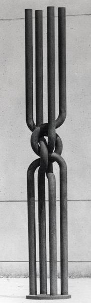 <b><i>Untitled</i></b>, 1979, steel, ø 50x450 cm